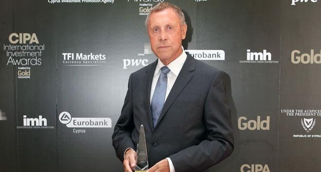 The Chairman of Marlow Navigation Co. Ltd, Mr. Hermann Eden