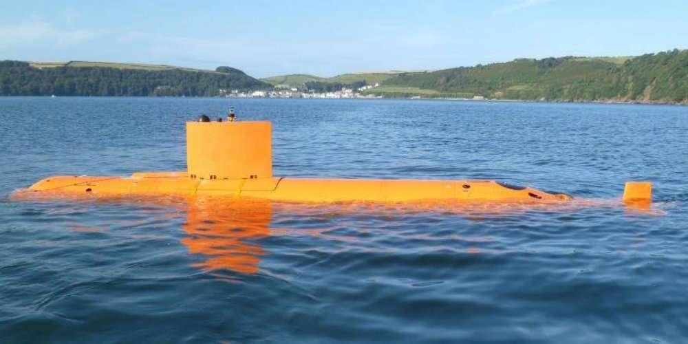 unmanned underwater vihecle