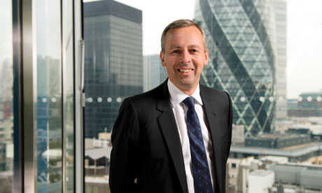 Lloyd's Register CEO Richard Salder at the company's London offices