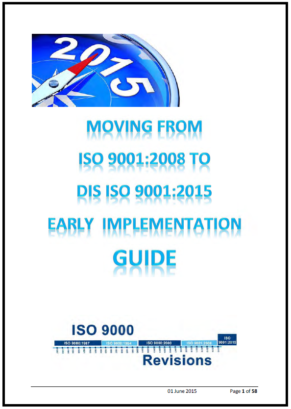 ISO 9001 - 2015 guide