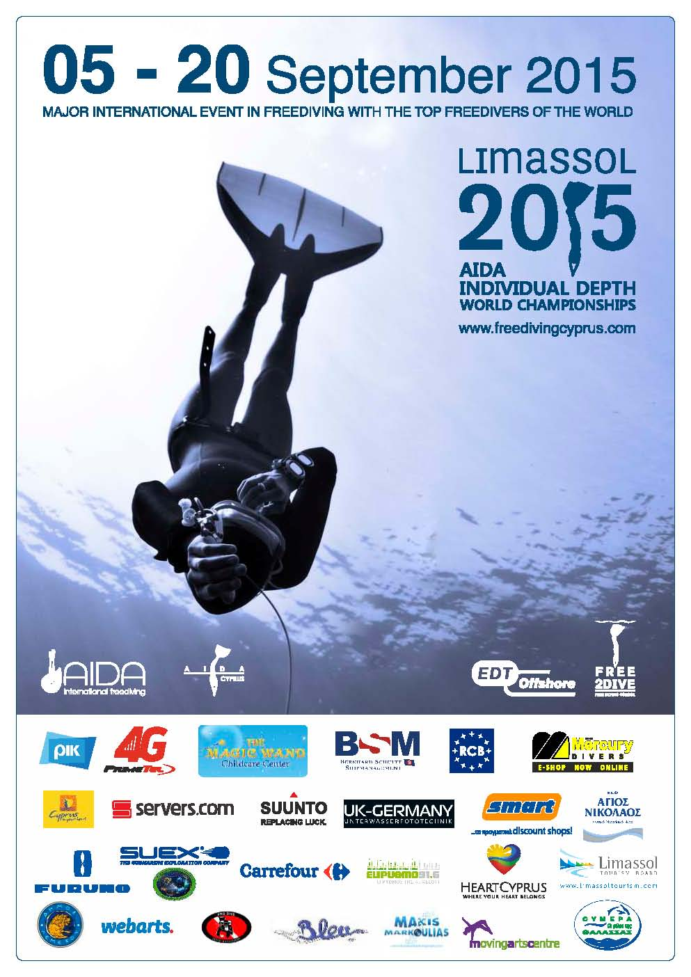 Poster freediving