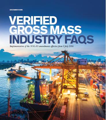 verified gross mass