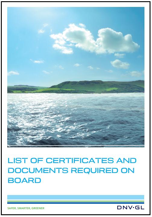 certificates DNVGL