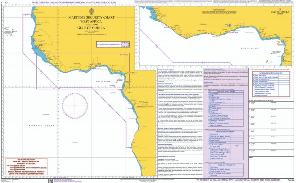 West Africa marsec chart