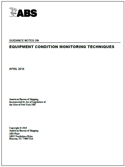 ABS condition monitoring