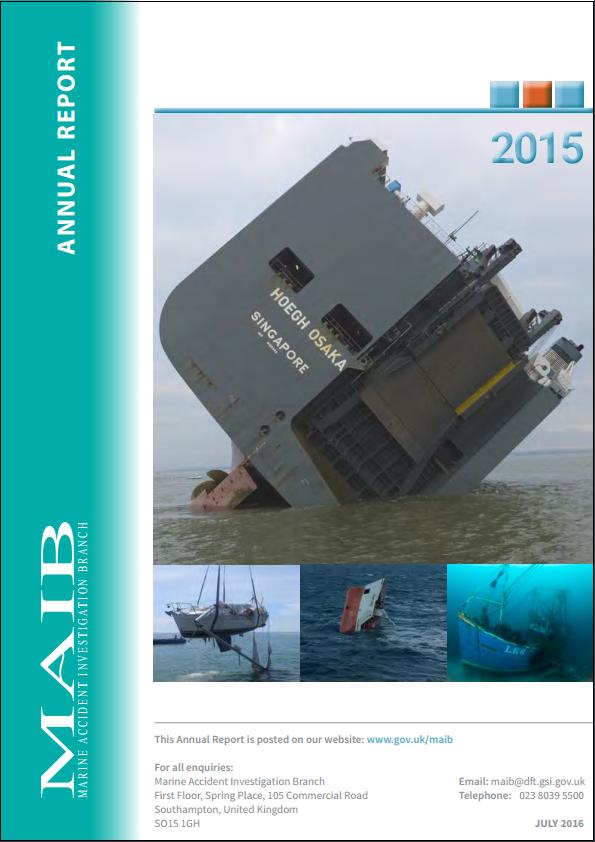 MAIB annual report 2015