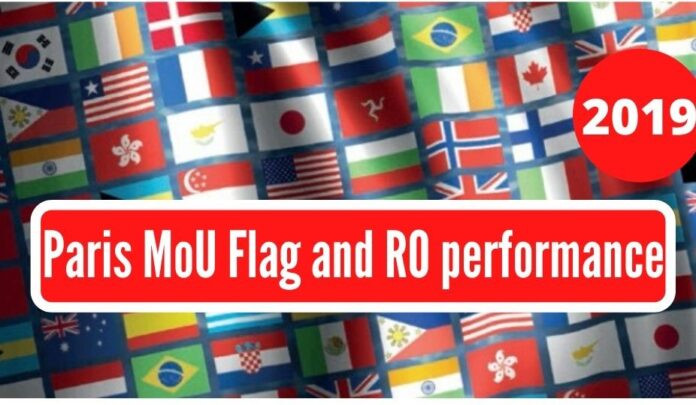 paris MoU flag and ro performance