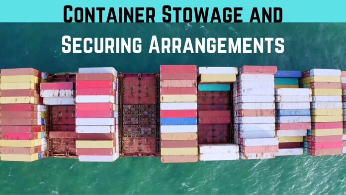 Container stowage